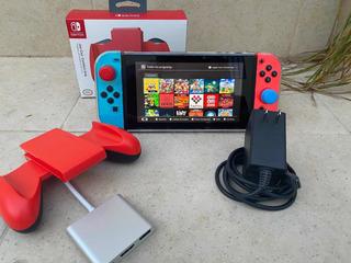 Nintendo Switch Con 25 Juegos