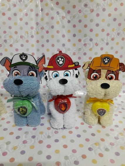 Souvenirs Patrulla Canina Paw Patrols En Toalla Con Jabón.