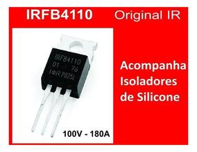 4x Transistor Irfb4110 Mosfet 100 V 180 A Kit Com 4 Peças