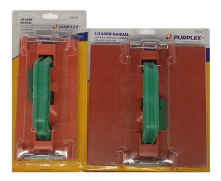 Kit Com 2 Lixador Manual Com Conexão Para Extensor - Purplex