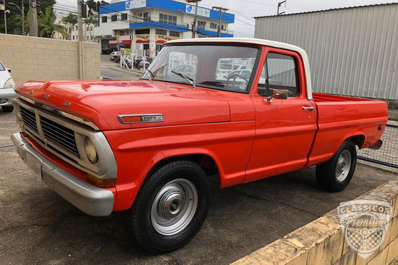 Ford F-100 1972 72 Motor V8 - Original - Antiga - Gasolina