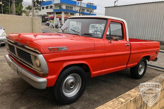 Ford F-100 1972 72 Motor V8 - Original - Antiga - Gasolina
