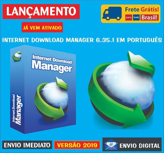 Internet Download Manager 6.33.3 (br) Envio Digital Imediato