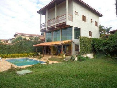 Casa Residencial À Venda, Jardim Paulista, Atibaia - Ca0641. - Ca0641