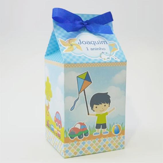 15 Caixa Milk Personalizada, Brinquedo Festa, Aniversario