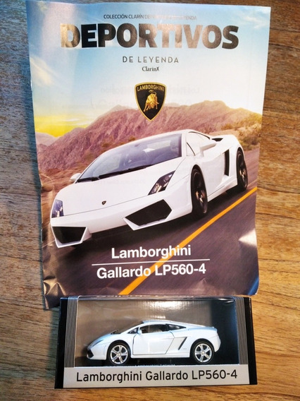 Auto De Colección Deportivos De Leyenda Lamborghini Gallardo