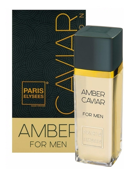 Perfume Amber For Men Caviar Collection 100 Ml - Original