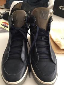 Zapatos Sneakers Usado Azul M T 10 Mex Hombre Louis Vuitton
