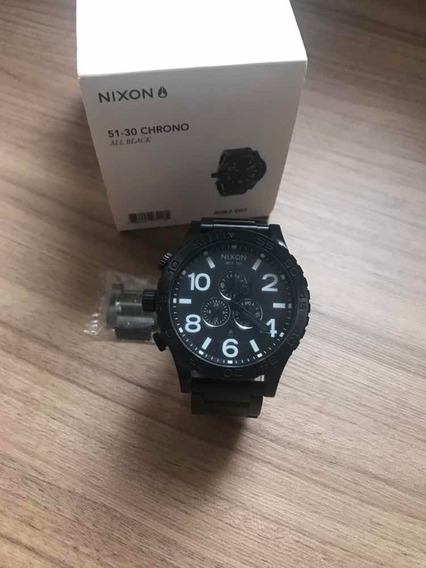 Relógio Nixon Chrono All Black Original