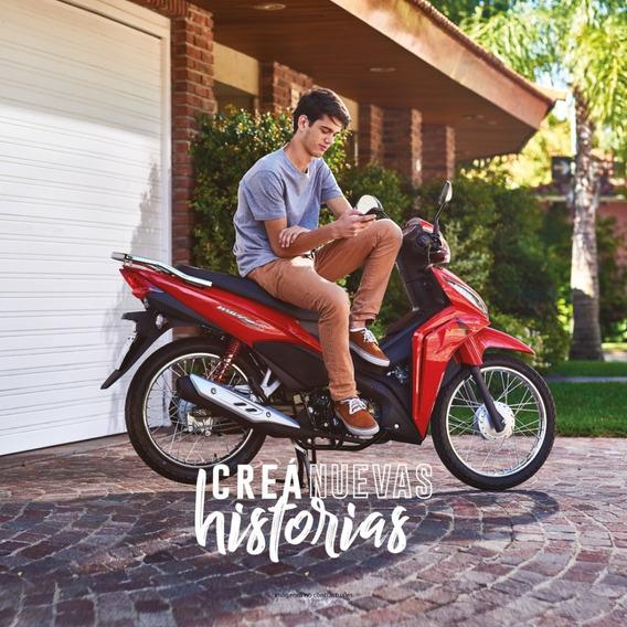 Honda Wave110 Cd Roja Scooter - 0km - Expomoto