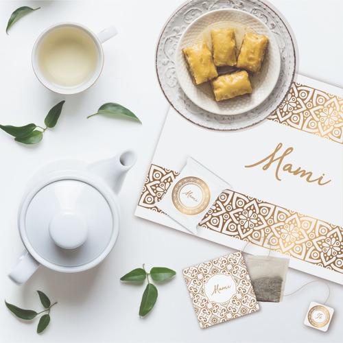 Kit Imprimible Editable Desayunos Mandala Dorado