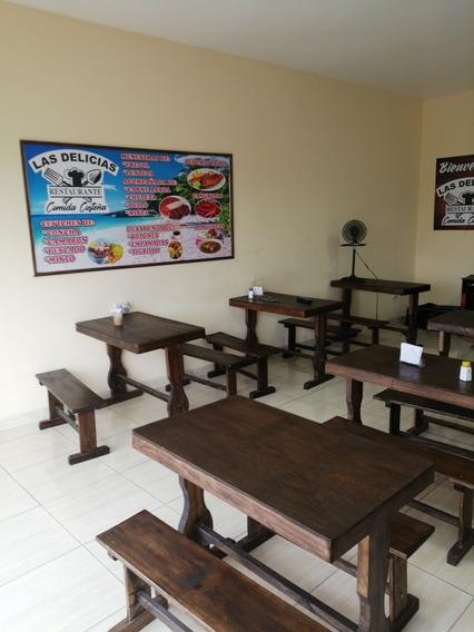 Vendo O Arriendo Restaurante Listo Para Trabajar En Sto Domi