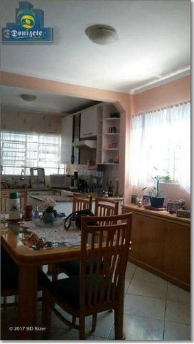 Sobrado Com 3 Dormitórios À Venda, 180 M² Por R$ 379.000,00 - Jardim Teles De Menezes - Santo André/sp - So0934