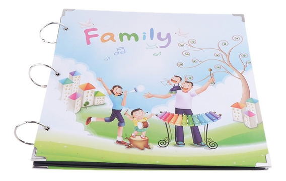 Álbum Foto Família Diy Álbum Scrapbook Aniversário Casam