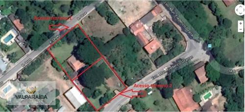 Imagem 1 de 4 de Terreno À Venda, 1113 M² Por R$ 362.000,00 - Bom Retiro - São José Dos Campos/sp - Te0047