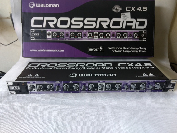 Crossover Cx4.5 Waldman ( Novo ) Qualidade E Muitos Recurso