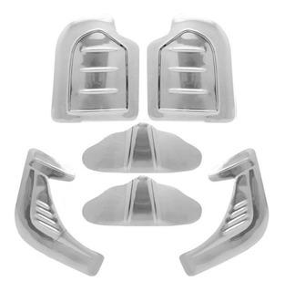 Kit Polaina Borboleta Fusca 70 A 96 Modelo Asa De Aluminio