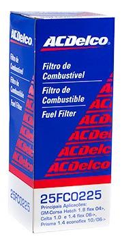 Filtro De Combustivel Spin 2013 2014 2015 2016 Acdelco