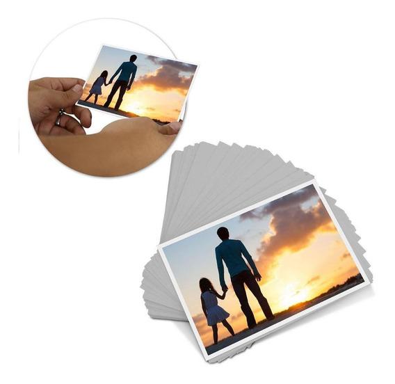 250 Folhas Papel Fotográfico Glossy 230g 10x15