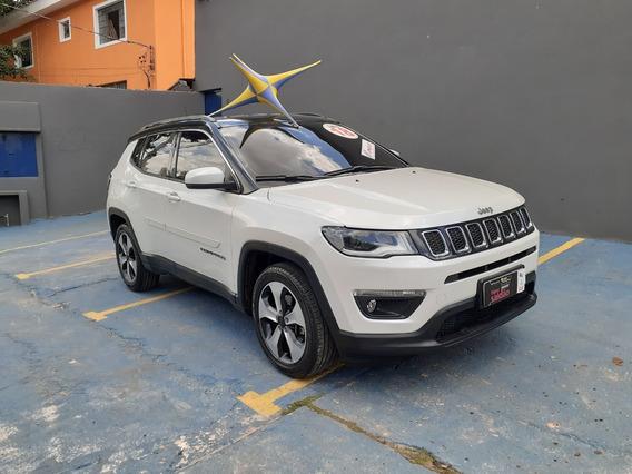 Jeep Compass 2018 Longitude Ú. Dono Novíssima $ 99900 Financ