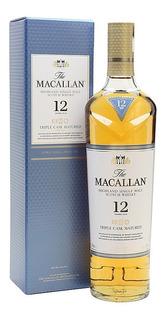 Whisky The Macallan 12 Single Malt Con Estuche Escoces