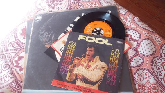 Elvis Fool 45 Rpm Compacto Vinil Ref 101