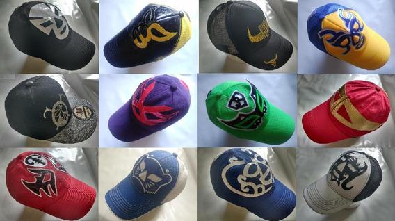Gorras Lucha Libre Mexicana - Máscaras - Varios Modelos