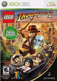 Lego Indiana Jones 2 (midia Fisica) Xbox 360