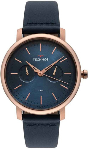 Relógio Technos Masculino Original 6p25bs/2a Nfe Garantia