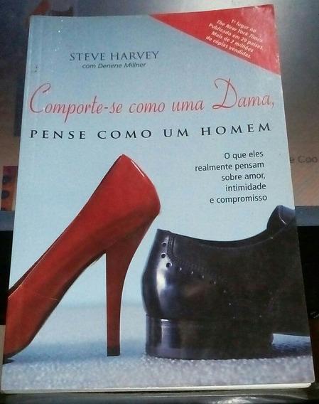 Livro Comporte-se Como Dama Pense Como Homem Steve Harvey