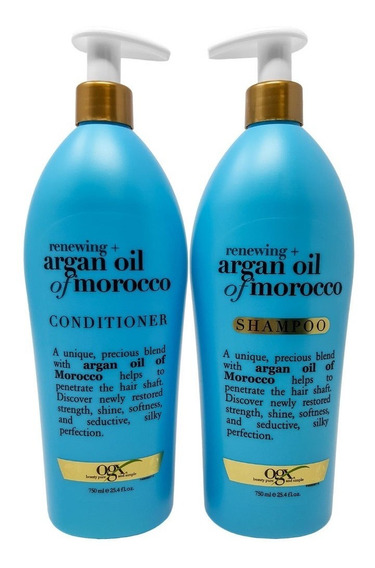 Ogx Argan Oil Of Morocco Shampoo Y Acondicionador (2 Pack)