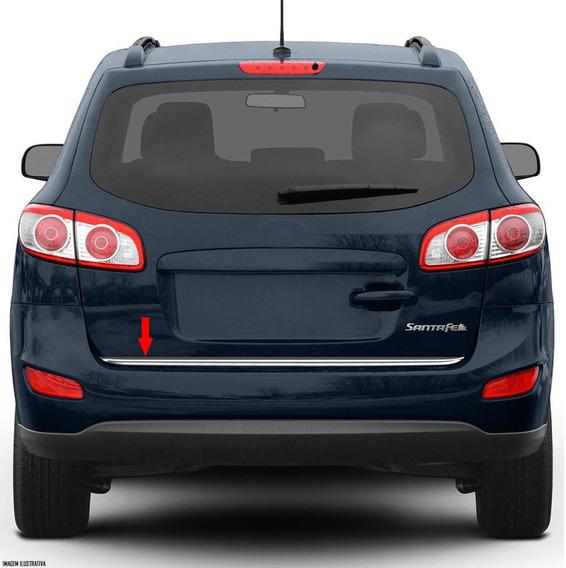Friso Cromado Resinado Traseiro Porta Mala Hyundai Santa Fé