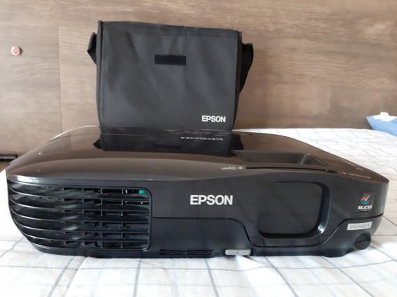 Projetor Epson Wxga Power Lite W10+ Resolução Hd 2600 Lumens