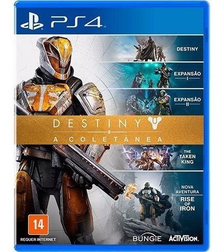 Jogo Mídia Física Destiny A Coletanea Para Playstation 4
