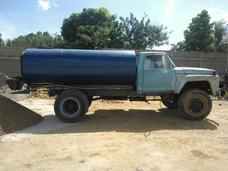Servicio De Agua Cisterna Capacidad De 32 Tambores O 6400lts