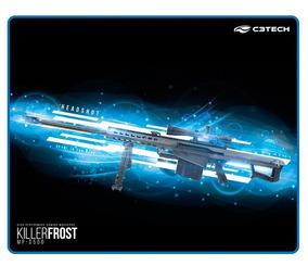 Mouse Pad Gamer C3tech Killer Frost 43 X 35 Borda Costurada