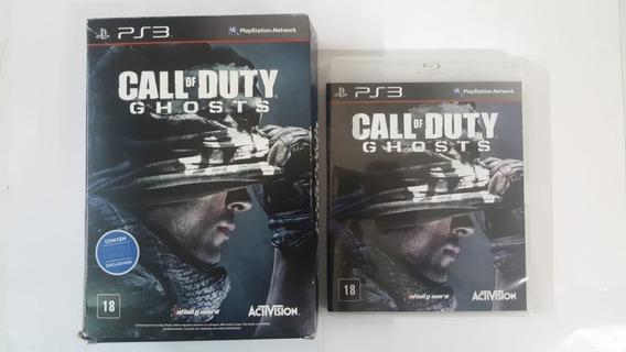 Call Of Duty Ghosts Com Pôster - Ps3 - Original