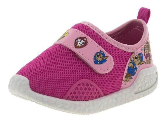 Tênis Infantil Baby Patrulha Canina Rosa Grendene Kids - 216