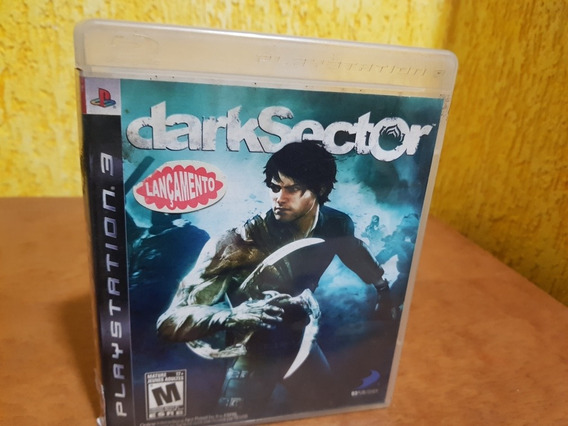 Dark Sector Usado Original Manual Ps3 Midia Física