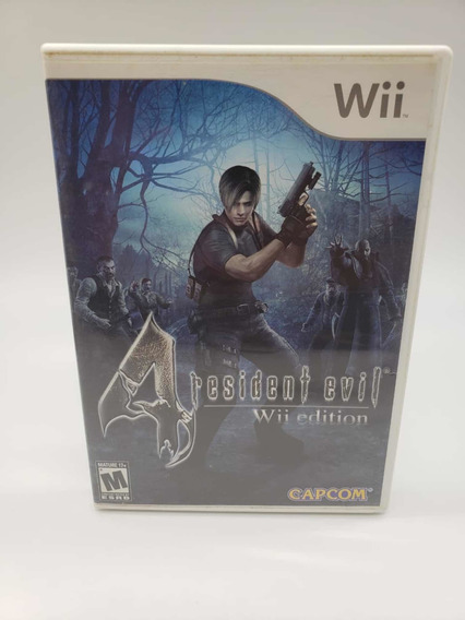 Resident Evil 4 Nintendo Wii Original Completo