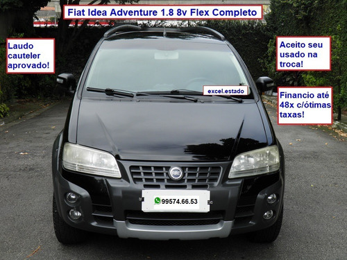 Fiat Idea Adventure 1.8 8v Flex Completo