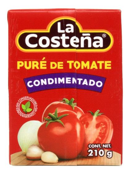 Puré De Tomate La Costeña Condimentado 210 Gr