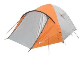 Barraca Azteq Katmandu 2/3 Pessoas Sobreteto Nautika Camping