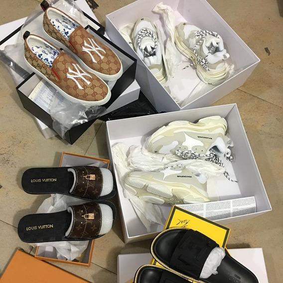 Seña Zapatillas Balenciaga , Louis Vuitton