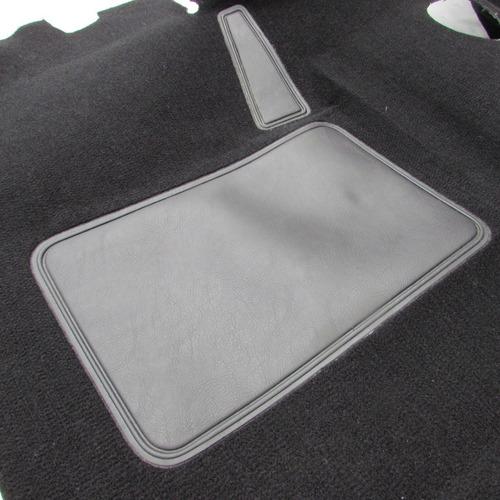 Tapete Carpete Moldado D20 4x4 Cabine Simples Preto Original Mercado Livre