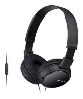 Auriculares On Ear Con Micrófono Sony Mdr-zx110ap - Negro