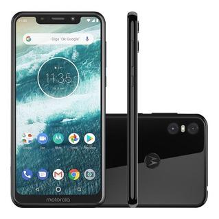 Smartphone Motorola Moto One 64gb 4gb 5.9 Dual Sim Vitrine