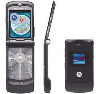 Motorola V3 Black Ótimo Estado Semi Desbloqueado
