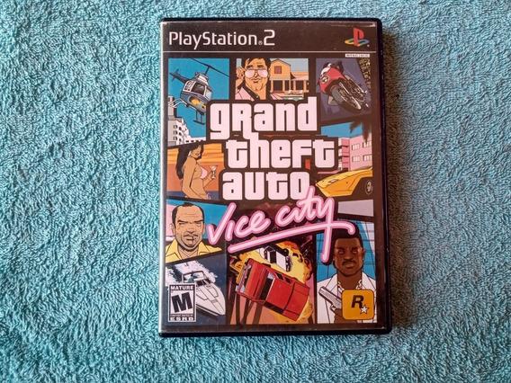 Gta Vice City Original Americano Playstation 2