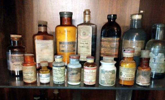 Frascos Antiguos De Botica (farmacia)